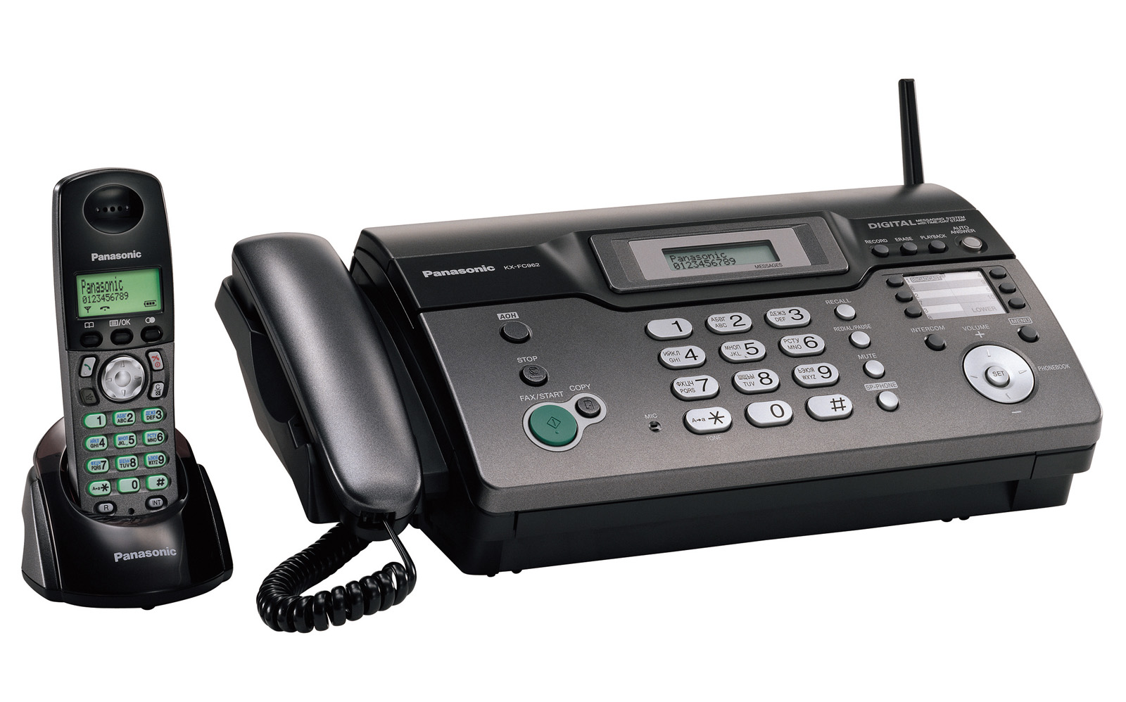 Panasonic факс kx fc962 инструкция