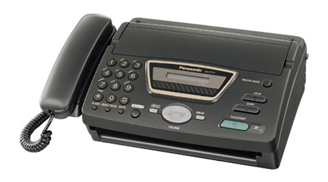 факс инструкция panasonic kx-ft72