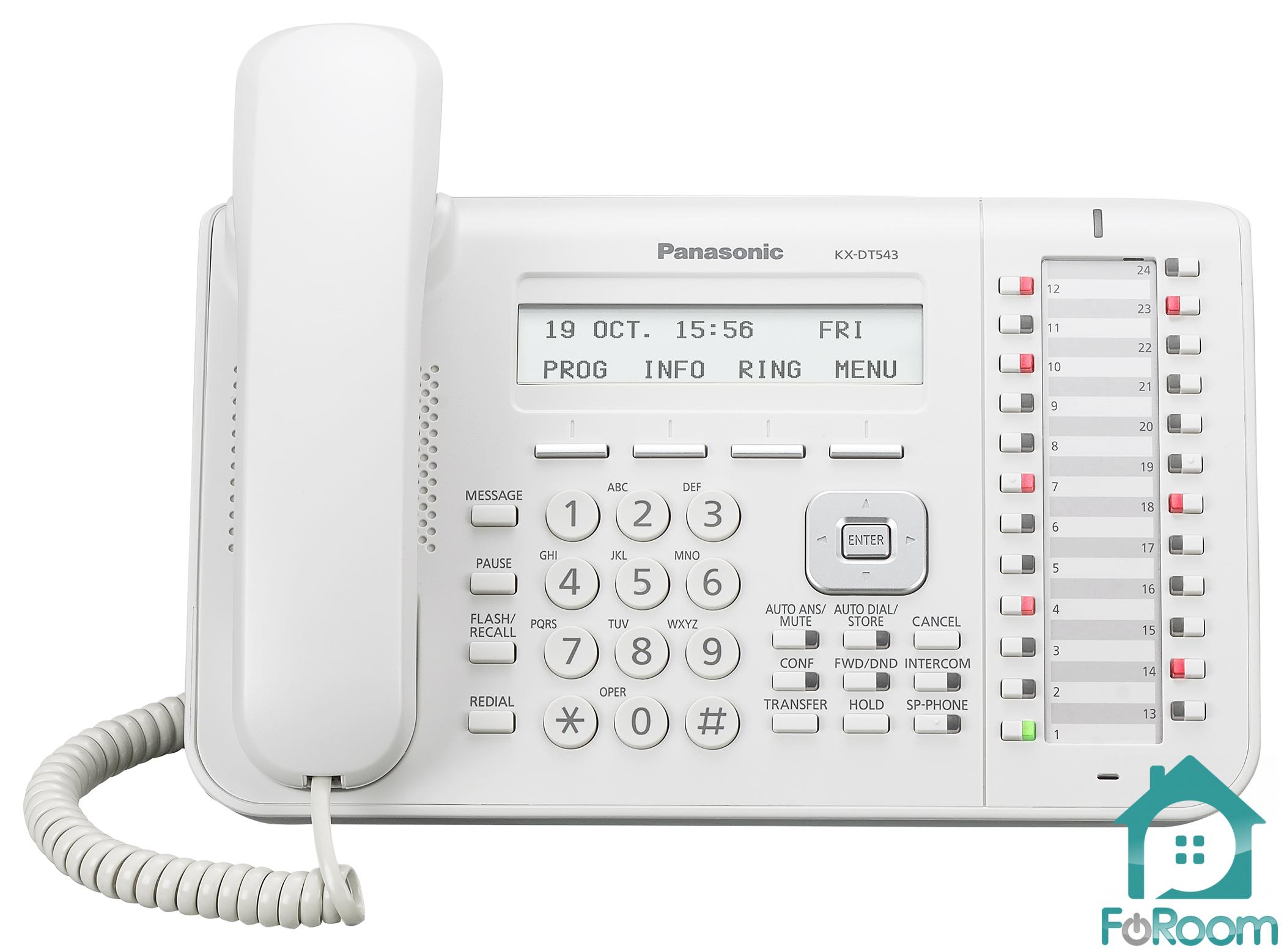 Panasonic Kx-dt543 инструкция скачать - фото 6