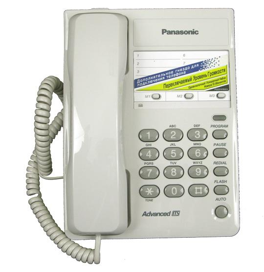 инструкция телефон panasonic kx-ts2361ruw