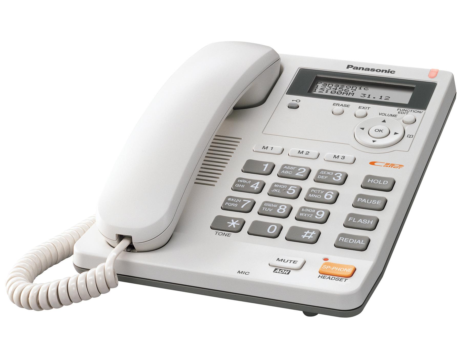 Инструкция телефон panasonic kx ts2565ru