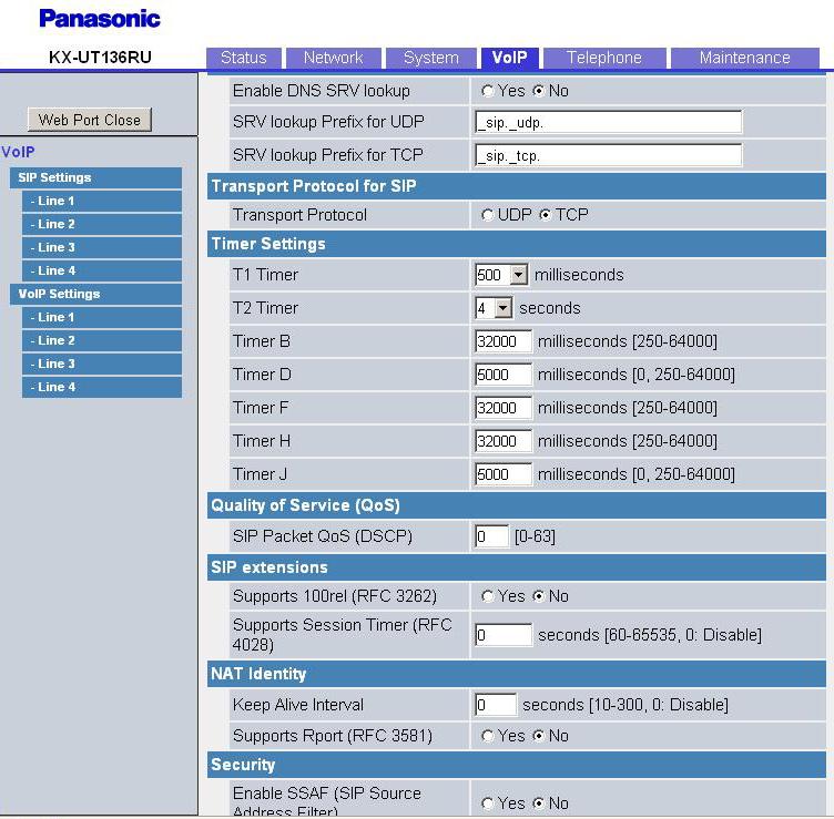 Panasonic Kx-ut113 Инструкция - фото 5