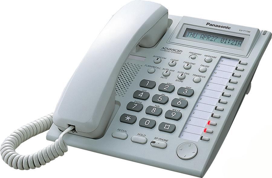 Panasonic Kx-T 7730 Инструкция