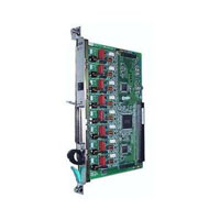 Плата Panasonic KX-TDA0180X (плата 8 внешних аналоговых линий, для...