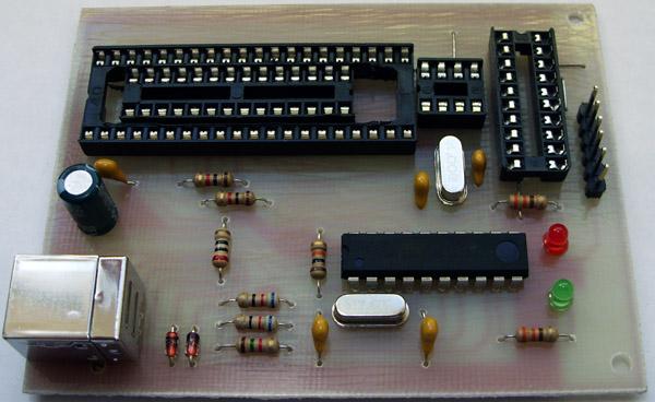 Программатор AVR - USB
