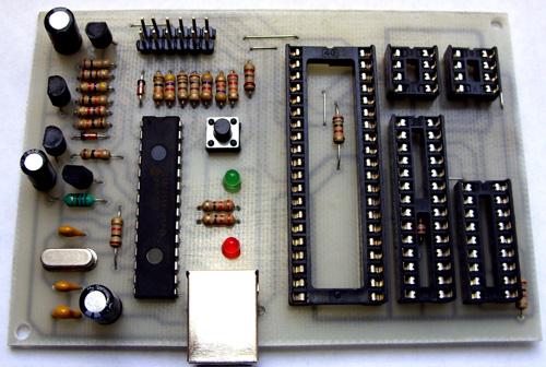Pic16c63a схема программатор