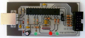 Программатор микроконтроллеров avr